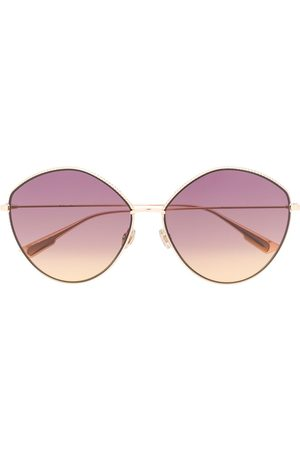 Dior Round-frame oversized sunglasses