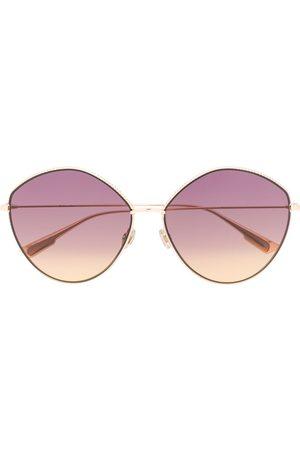 Dior Women Round - Round-frame oversized sunglasses