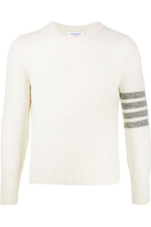 Thom Browne Men Sweatshirts - Crew neck 4-Bar jumper