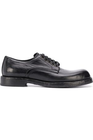 Dolce & Gabbana Men Formal Shoes - Lace-up leather derby shoes