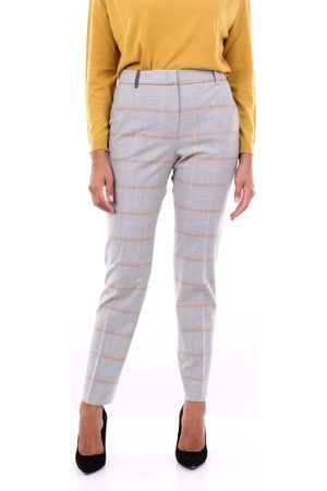 PESERICO SIGN Women Chinos - Chino Women and sand