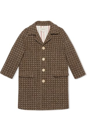 Gucci Square G patterned coat