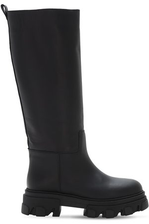 GIA 40mm Leather Combat Boots