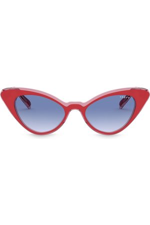 vogue Cat-eye gradient lens sunglasses