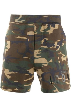 Dsquared2 Men Shorts - Camouflage-print Icon shorts