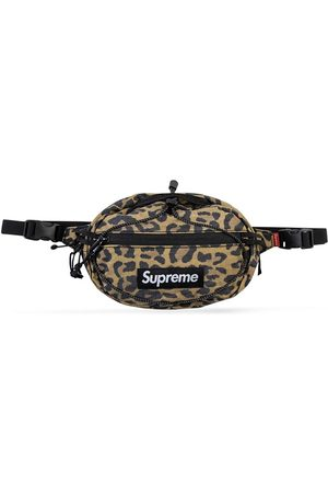 Supreme Leopard-print belt bag