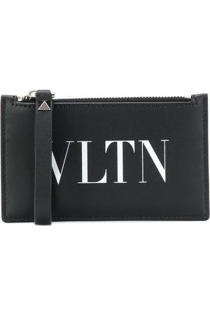 VALENTINO GARAVANI VLTN logo-print zipped cardholder