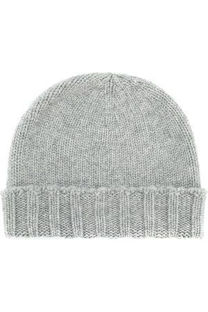 DRUMOHR Cable knit beanie - Grey