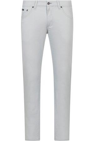 Dolce & Gabbana Logo patch straight-leg jeans