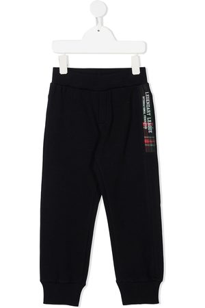 Lapin House Logo patch track pants
