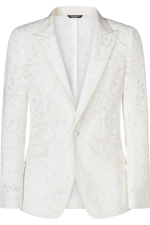 Dolce & Gabbana Cordonnet lace blazer