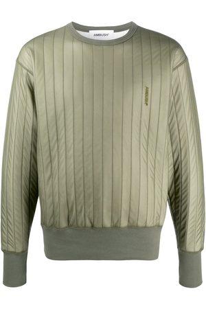 AMBUSH Sweatshirts - Drop shoulder padded sweatshirt