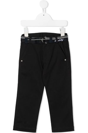 Lapin House Straight-leg belted trousers