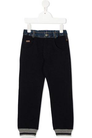 Lapin House Boys Sweatpants - Denim patch pocket sweatpants