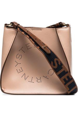 Stella McCartney Hobo faux leather cross-body bag - Neutrals