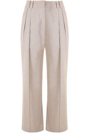 ALUF Cedro straight trousers - Neutrals