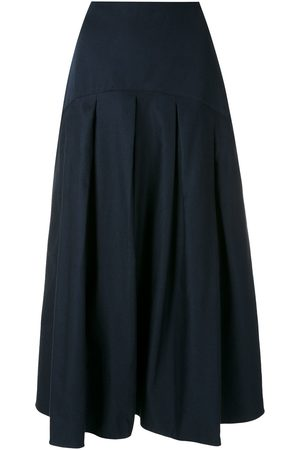 ALUF Alina midi skirt - AZ - Azul