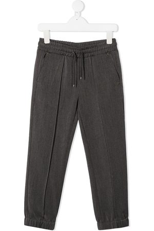 John Richmond Junior Drawstring stretch trousers - Grey