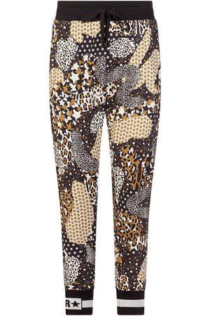 Dolce & Gabbana Mix-print track pants