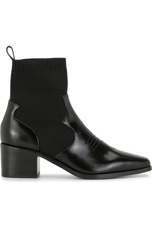SENSO Women Flat Shoes - Slip on western boots