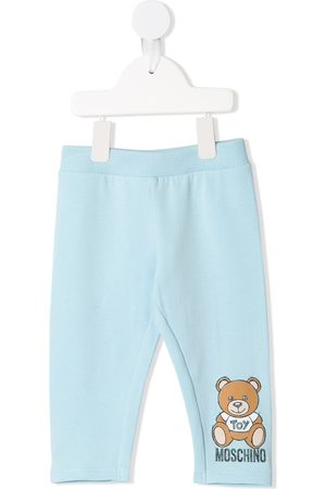 Moschino Pants - Teddy bear print trousers