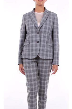 PESERICO SIGN Blazer Women Fancy virgin wool - elastane - polyamide fiber and cotton