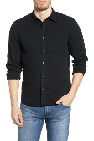 KATO' Men's The Ripper Organic Cotton Gauze Button-Up Shirt