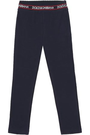 Dolce & Gabbana Stretch-cotton leggings
