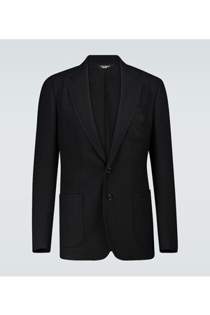 Dolce & Gabbana SIngle-breasted wool jersey blazer