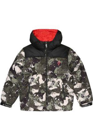 Marcelo Burlon Kids of Milan Camo puffer jacket