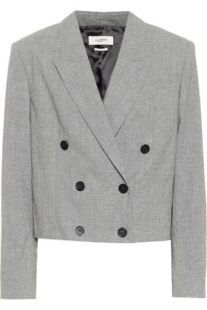 Isabel Marant, Étoile Lisby cropped wool-blend blazer