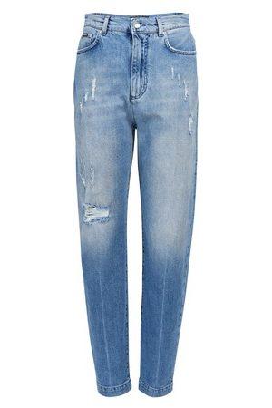 Dolce & Gabbana Women Straight Leg Pants - 5 pocket trousers