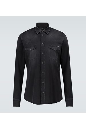 Dolce & Gabbana Straight-fit denim shirt