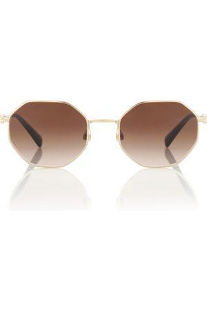 VALENTINO VLOGO hexagonal sunglasses