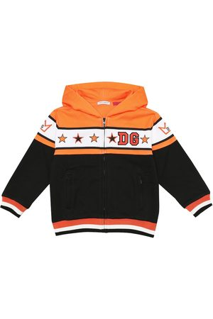 Dolce & Gabbana Embroidered cotton hoodie