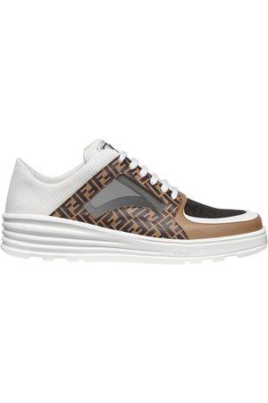 Fendi Men Sneakers - Leather low tops