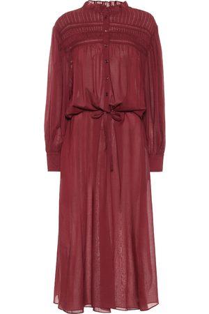 Isabel Marant, Étoile Women Midi Dresses - Perkins cotton voile midi dress