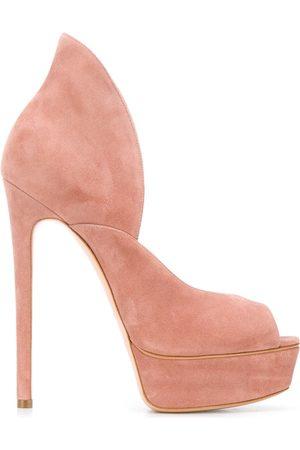 Casadei Peep toe 150 platform sandals