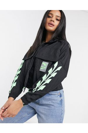 PUMA Evide track jacket in and green