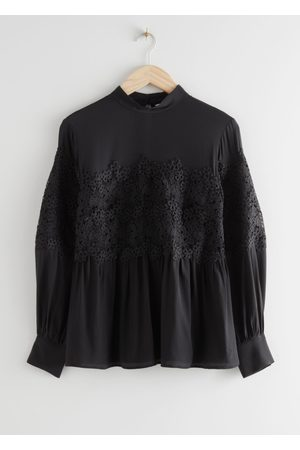 & OTHER STORIES Romantic Lace Blouse