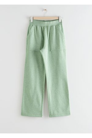 & OTHER STORIES Relaxed Jersey Trousers
