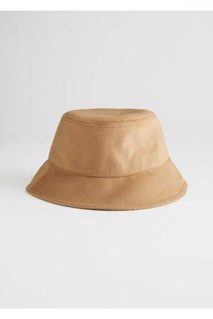 & OTHER STORIES Felt Wool Blend Bucket Hat