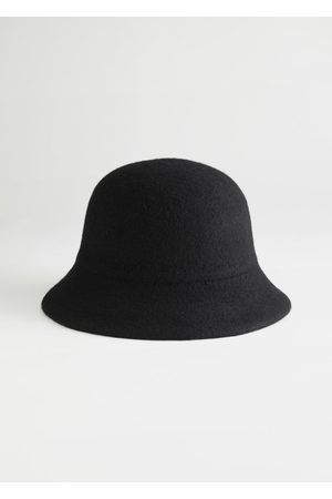 & OTHER STORIES Wool Blend Structured Bucket Hat
