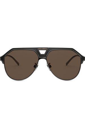 Dolce & Gabbana DG2257 aviator frame-sunglasses