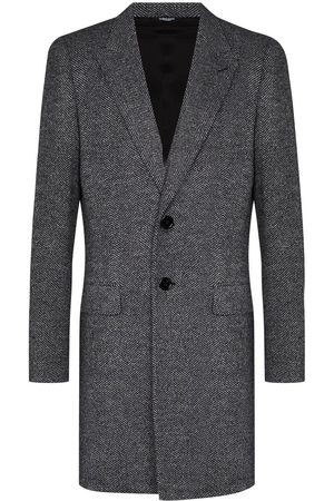 Dolce & Gabbana Single-breasted tailored coat - Grey