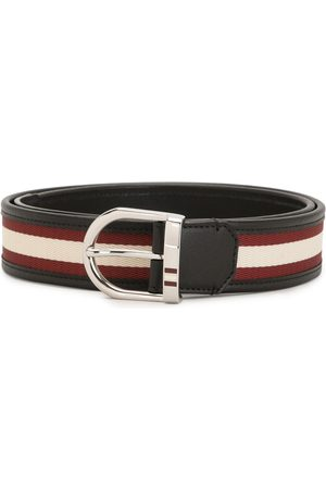 Bally Darkon Enameled Stripe 35mm belt