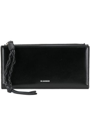 Jil Sander Braided strap wallet