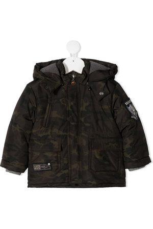 Lapin House Camouflage print jacket