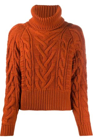 Dolce & Gabbana Women Turtlenecks - Cable-knit rollneck jumper