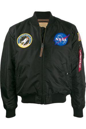 Alpha Industries NASA satin bomber jacket